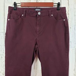 Buffalo David Bitton Jeans - Buffolo David Bitton Womens Pants Purple Five Pkt